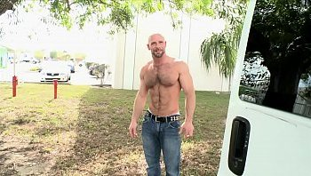 free gay hairy men video